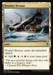 Frontier Bivouac on Channel Fireball