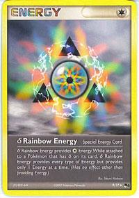 Delta Species Rainbow Energy - 9 - Uncommon