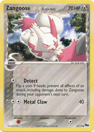Zangoose δ - 15 - Common