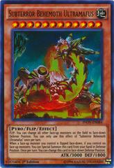 Subterror Behemoth Ultramafus - INOV-EN084 - Ultra Rare - 1st Edition on Channel Fireball
