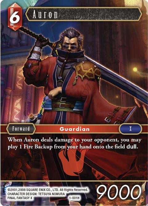 Auron - 1-001H
