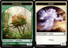 Saproling Token // Spirit Token