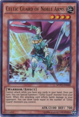 Celtic Guard of Noble Arms - MVP1-EN048 - Ultra Rare - Unlimited Edition on Channel Fireball