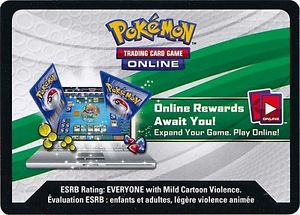 XY Evolutions Booster Pack Code Card