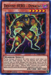 Destiny HERO - Dynatag - DESO-EN002 - Super Rare - 1st Edition
