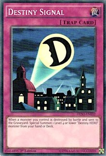 Destiny Signal - DESO-EN059 - Super Rare - 1st Edition