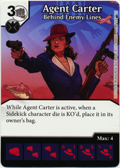 Agent Carter - Behind Enemy Lines (Foil) (Card Only)