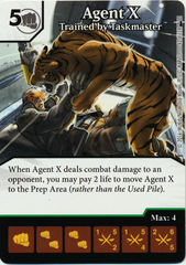 Agent X - Trained by Taskmaster (Card Only)