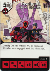 Deadpool - My Set. My Rules. (Die & Card Combo)