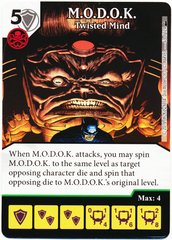 M.O.D.O.K. - Twisted Mind (Foil) (Die & Card Combo)
