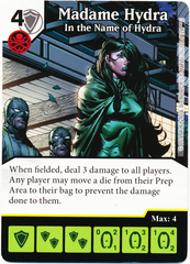 Madame Hydra - In the Name of Hydra (Foil) (Die & Card Combo)