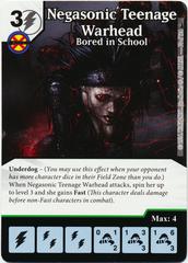 Negasonic Teenage Warhead - Bored in School (Foil) (Die & Card Combo)