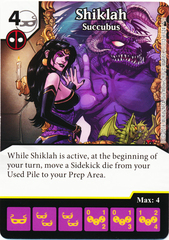 Shiklah - Succubus (Card Only)