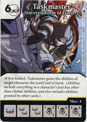 Taskmaster - Sincerest Form of Flattery (Die & Card Combo)
