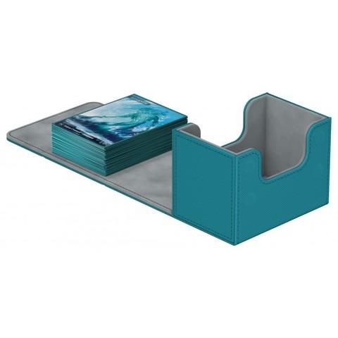 Ultimate Guard - Deck Case 80+ Sidewinder Xenoskin - Petrol