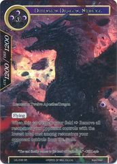 Dimension Dragon, Nidhogg - LEL-035 - SR - Textured Foil