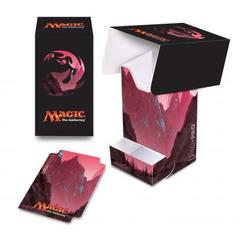 Ultra Pro - Magic the Gathering: Mana Series 5 Mountain Full View Deck Box with Tray
