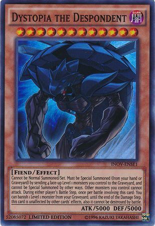 Yugioh Mare Mare Common INOV 1st Edition Lightly Played