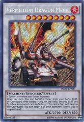Vermillion Dragon Mech - INOV-EN081 - Secret Rare - Unlimited Edition