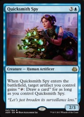 Quicksmith Spy on Channel Fireball