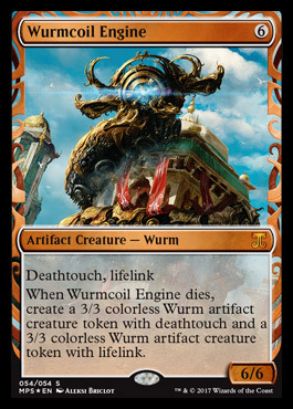 Wurmcoil Engine - Foil