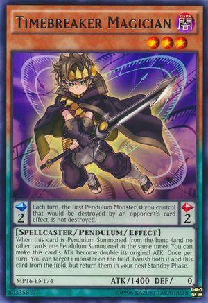 Timebreaker Magician - MP16-EN174 - Rare - Unlimited Edition - Yu-Gi