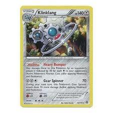 Klinklang - 73/114 - Non-Holo Gears of Fire Theme Deck Exclusive