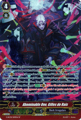 Abominable One, Gilles de Rais - G-RC01/S09EN - SP on Channel Fireball