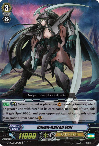 Raven-haired Ezel - G-RC01/017EN - RR