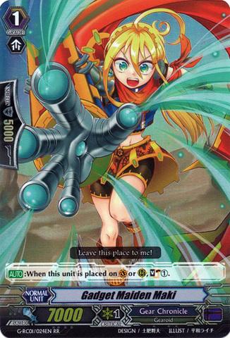 Gadget Maiden Maki - G-RC01/024EN - RR