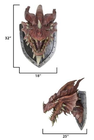 D&D RED DRAGON TROPHY PLAQUE