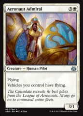 Aeronaut Admiral on Channel Fireball