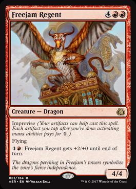 Freejam Regent - Foil