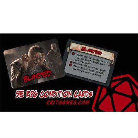 5E Rpg - Condition Cards