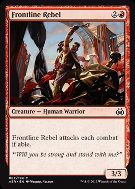 Frontline Rebel - Foil