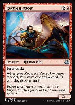 Reckless Racer - Foil