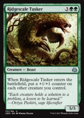 Ridgescale Tusker - Foil