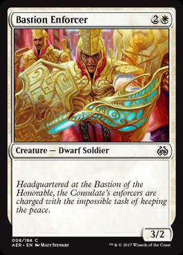 Bastion Enforcer - Foil