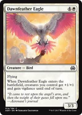 Dawnfeather Eagle - Foil
