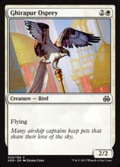 Ghirapur Osprey on Channel Fireball