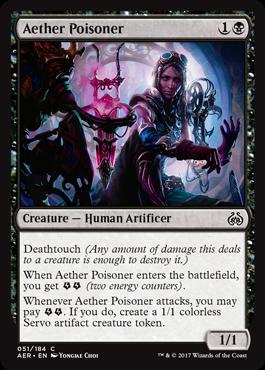 Aether Poisoner - Foil