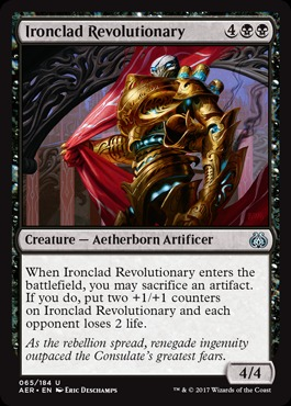 Ironclad Revolutionary - Foil