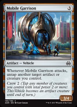 Mobile Garrison - Foil
