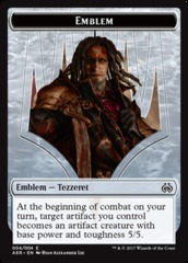 Emblem - Tezzeret - Aether Revolt