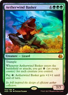 Aetherwind Basker (Aether Revolt Prerelease Foil)