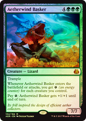 Aetherwind Basker - Foil - Prerelease Promo on Channel Fireball