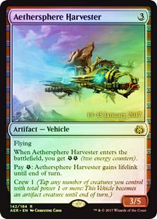 Aethersphere Harvester (Aether Revolt Prerelease Foil)