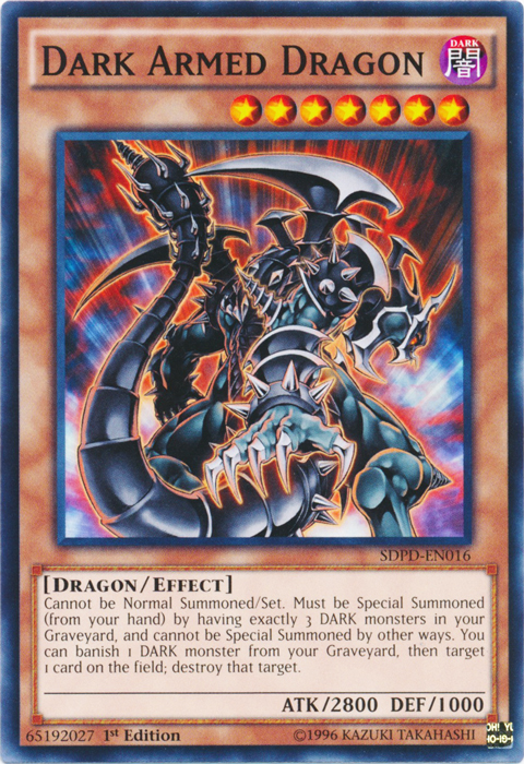 Dark Armed Dragon - SDPD-EN016 - Common - 1st Edition