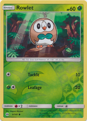 Rowlet - 9/149 - Common - Reverse Holo