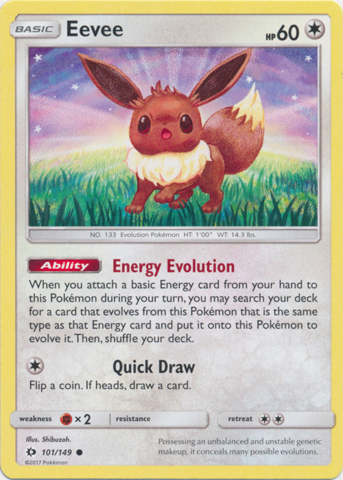Eevee - 101/149 - Common